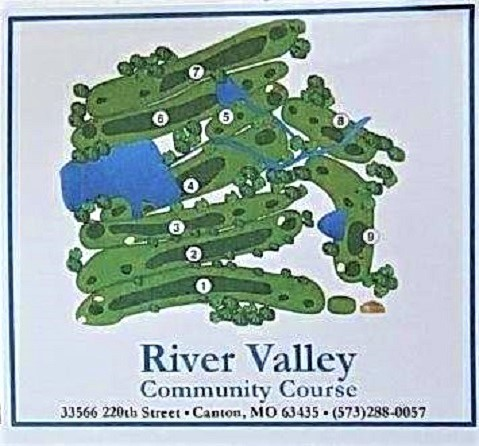 Golf Course Photo, River View Community Cousre, Canton, Missouri, 63435