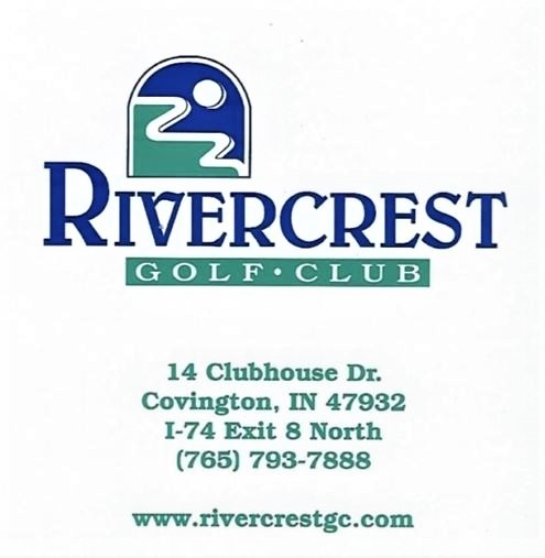 Rivercrest Golf Club, Covington, Indiana,  - Golf Course Photo