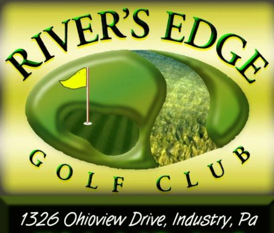 Golf Course Photo, Rivers Edge Golf Club, CLOSED 2012, Industry, 15052
