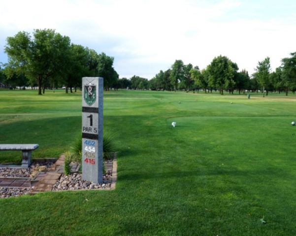 Golf Course Photo, Riverside Golf Club, Grand Island, Nebraska, 68801