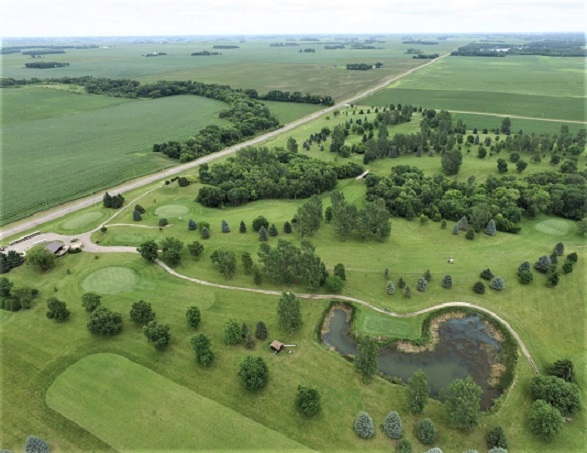 Riverview Golf Course, New Richland, Minnesota,  - Golf Course Photo
