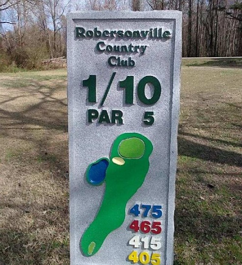 Golf Course Photo, Robersonville Country Club, Robersonville, North Carolina, 27871