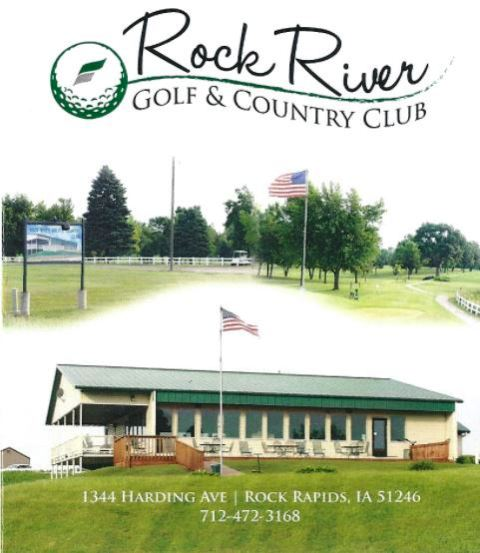 Rock River Golf & Country Club, Rock Rapids, Iowa,  - Golf Course Photo