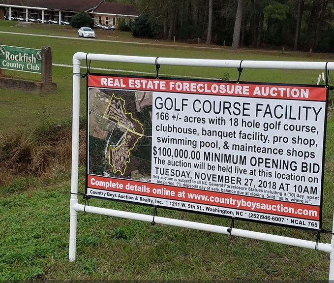 Rockfish Golf Course, CLOSED 2018, Wallace, North Carolina,  - Golf Course Photo