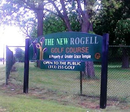 Golf Course Photo, Rogell Golf Course, CLOSED 2013, Detroit, 48219