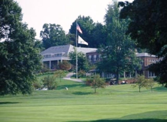 Golf Course Photo, Rolling Rock Club, Ligonier, 15658