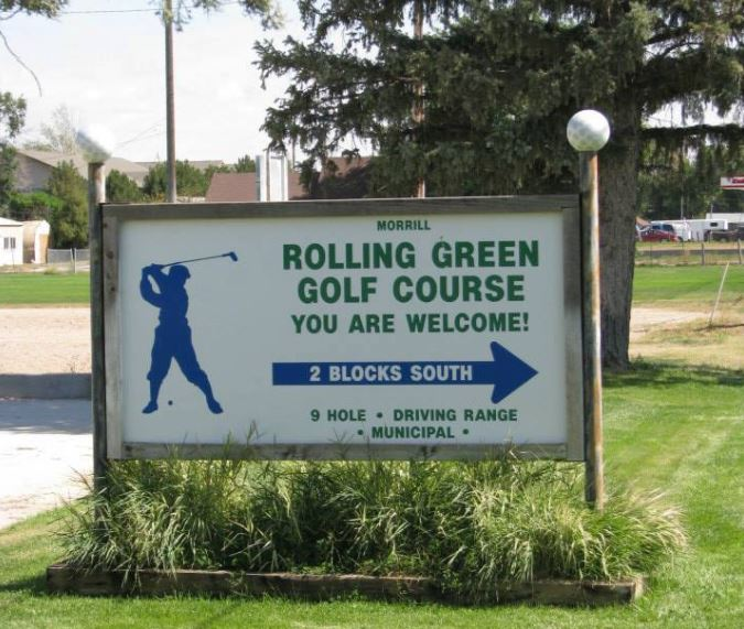 Rolling Green Golf Course, Morrill, Nebraska,  - Golf Course Photo