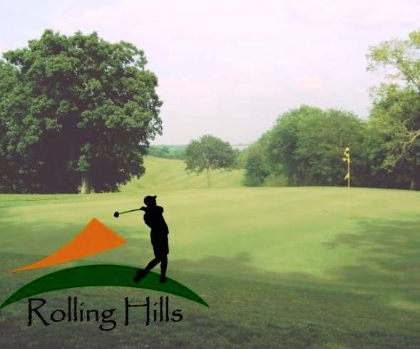 Golf Course Photo, Rolling Hills Golf Course, CLOSED 2014, Norwalk, Iowa, 50211