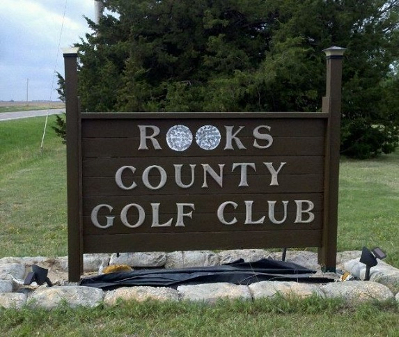 Rooks County Golf Course, Plainville, Kansas,  - Golf Course Photo