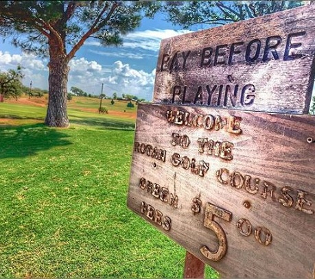 Rotan Golf Club, Rotan, Texas,  - Golf Course Photo