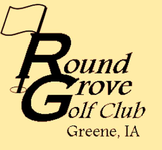 Golf Course Photo, Round Grove Golf & Country Club, Greene, Iowa, 50636