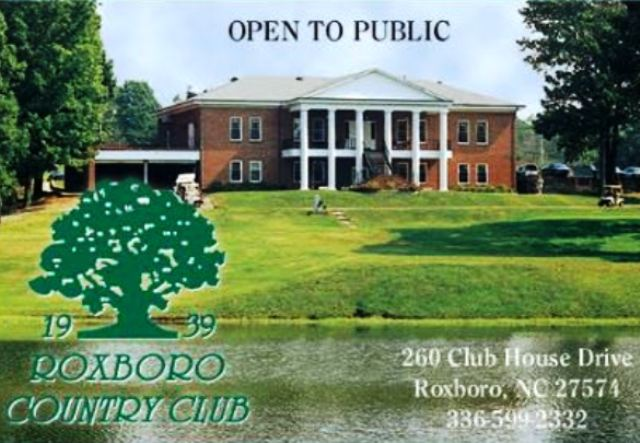 Roxboro Country Club | Roxboro Golf Course,Roxboro, North Carolina,  - Golf Course Photo