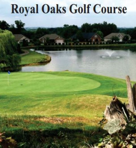 Golf Course Photo, Royal Oaks Country Club, CLOSED 2018, Maryville, 37801