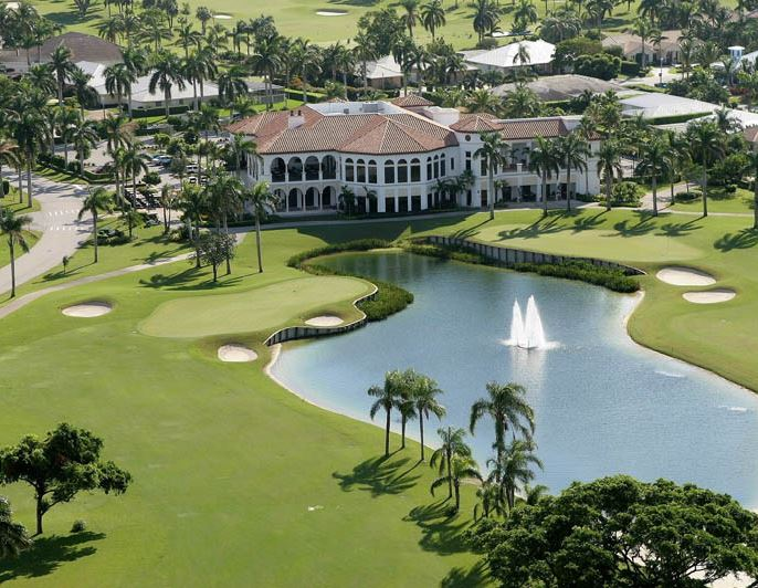 Royal Palm Yacht & Country Club, Boca Raton, Florida,  - Golf Course Photo