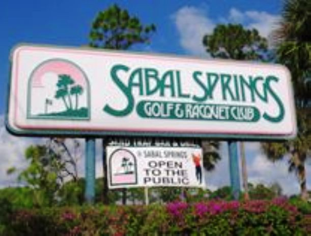 Golf Course Photo, Sabal Springs Golf & Racquet Club, North Fort Myers, 33917