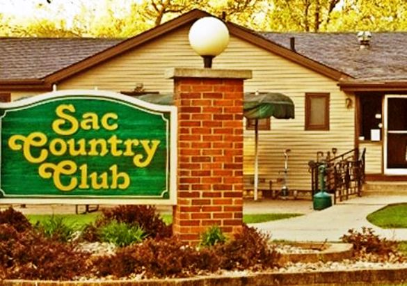 Golf Course Photo, Sac Country Club, Sac City, Iowa, 50583