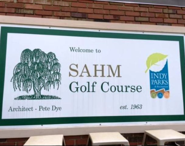 Sahm Golf Course, Indianapolis, Indiana, 46250 - Golf Course Photo