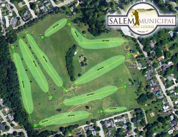 Salem Municipal Golf Course,Salem, Virginia,  - Golf Course Photo