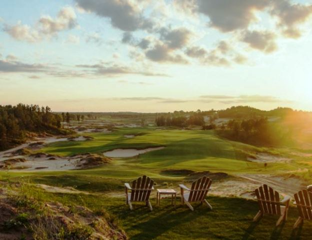 Sand Valley Golf Resort, Sand Valley Golf Course,Nekoosa, Wisconsin,  - Golf Course Photo