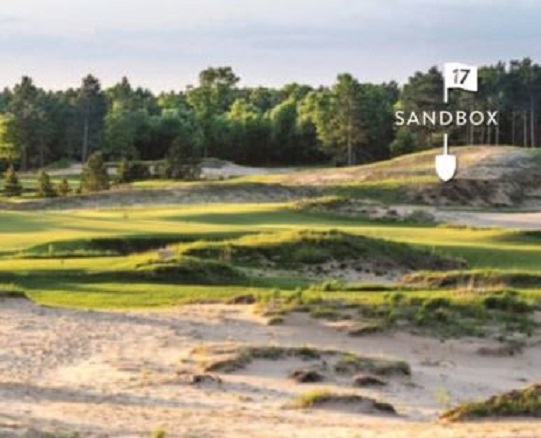 Golf Course Photo, Sand Valley Golf Resort, The Sandbox, Nekoosa, 54457
