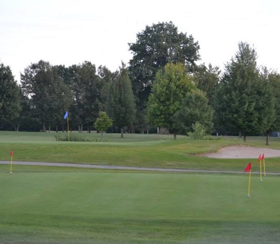 Golf Course Photo, Sandy Ridge Golf Course, Midland, Michigan, 48642