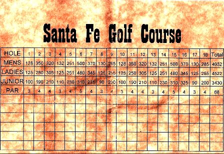Santa Fe Golf Course,San Angelo, Texas,  - Golf Course Photo