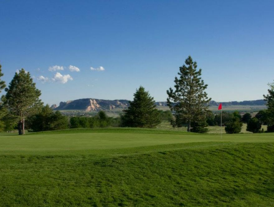 Scotts Bluff Country Club, Scottsbluff, Nebraska,  - Golf Course Photo