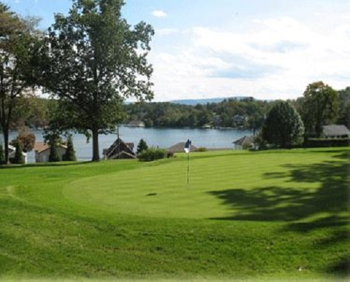 Golf Course Photo, Scranton Canoe Club, Lake Winola, Pennsylvania, 18411