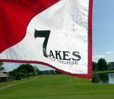 Seven Lakes Golf Course, Fort Myers, Florida,  - Golf Course Photo