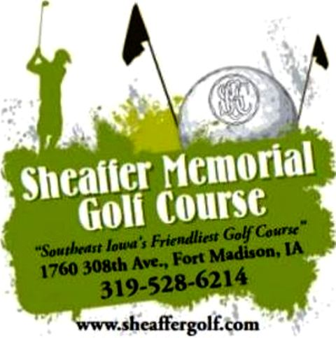 Golf Course Photo, Sheaffer Memorial Golf Course, Fort Madison, Iowa, 52627