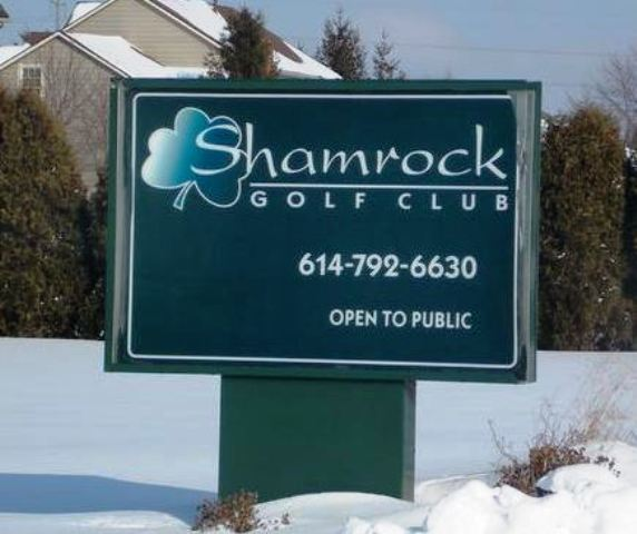 Golf Course Photo, Shamrock Golf Course, CLOSED 2014, Powell, 43065