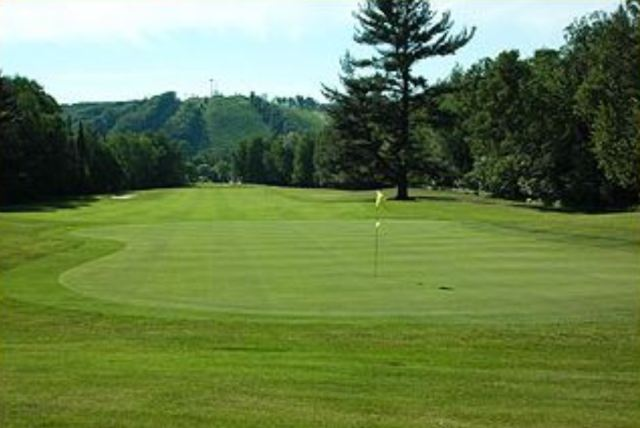 Shanty Creek, Schuss Mountain Golf Course, Bellaire, Michigan,  - Golf Course Photo