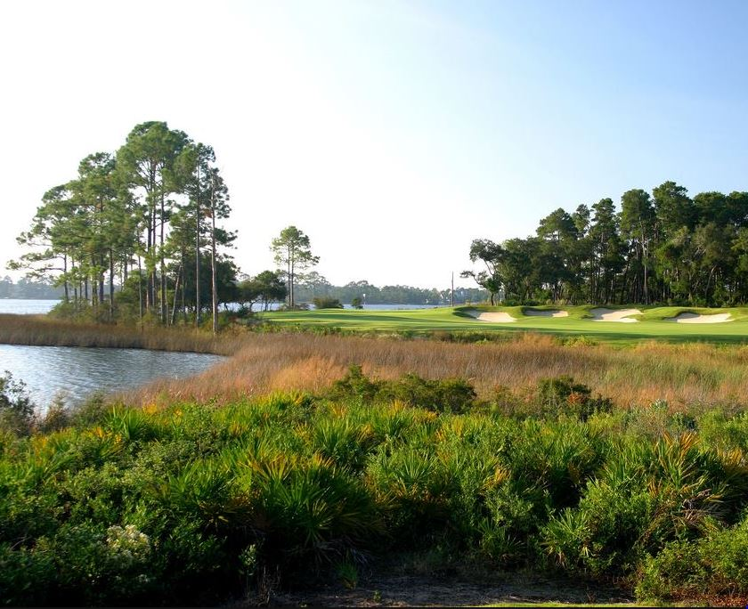 Sharks Tooth Golf Club, Panama City Beach, Florida,  - Golf Course Photo