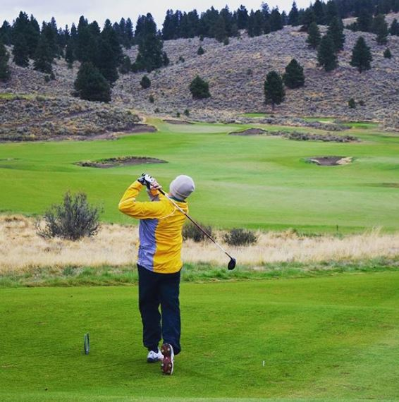 Silvies Retreat and Links, Hankins Golf Course, Seneca, Oregon,  - Golf Course Photo