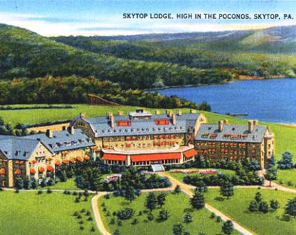 Skytop Lodge Golf Course,Skytop, Pennsylvania,  - Golf Course Photo