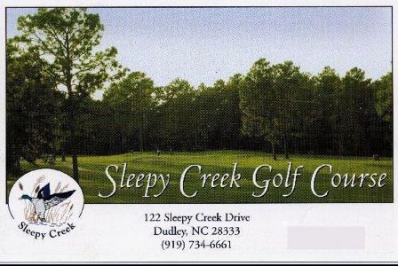 Sleepy Creek Golf Club, CLOSED 2014, Dudley, North Carolina, 28333 - Golf Course Photo