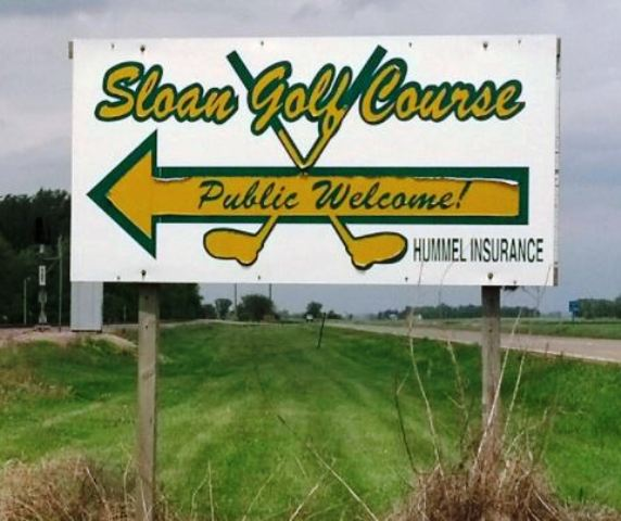 Sloan Golf Course, Sloan, Iowa,  - Golf Course Photo