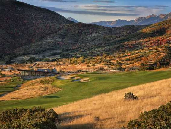 Soldier Hollow Golf Course, Gold Course, Midway, Utah,  - Golf Course Photo