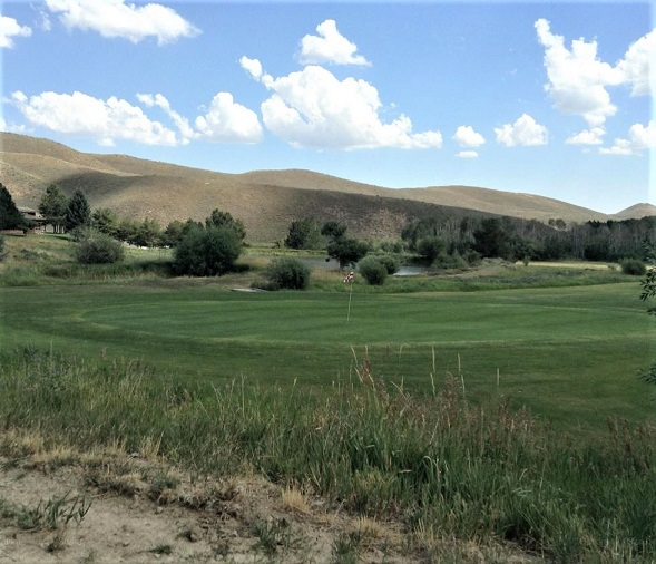 Golf Course Photo, Soldier Mountain Ranch & Resort, CLOSED 2016, Fairfield, Idaho, 83327