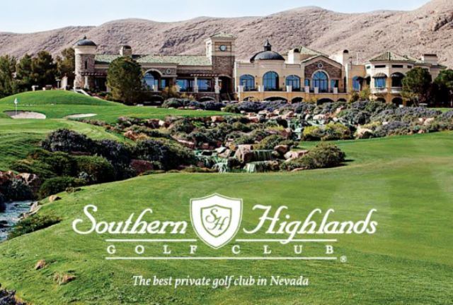 Southern Highlands Golf Club,Las Vegas, Nevada,  - Golf Course Photo