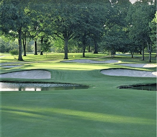 Golf Course Photo, Southern Hills Country Club, Tulsa, Oklahoma, 74136