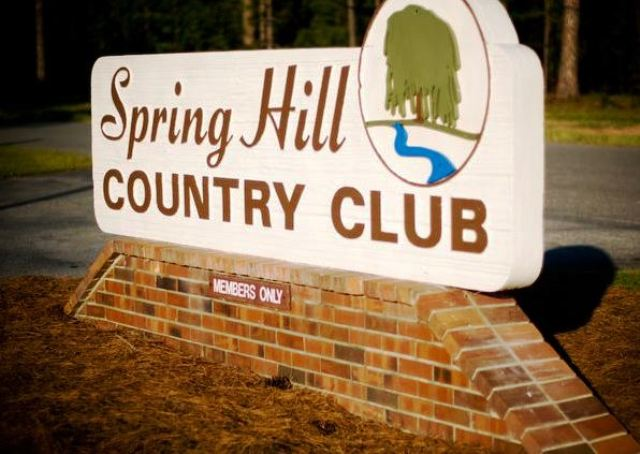 Spring Hill Country Club,Tifton, Georgia,  - Golf Course Photo