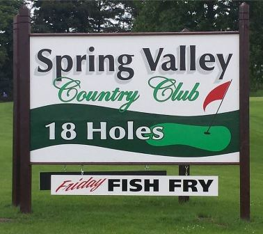 Golf Course Photo, Spring Valley Country Club, Salem, 53168