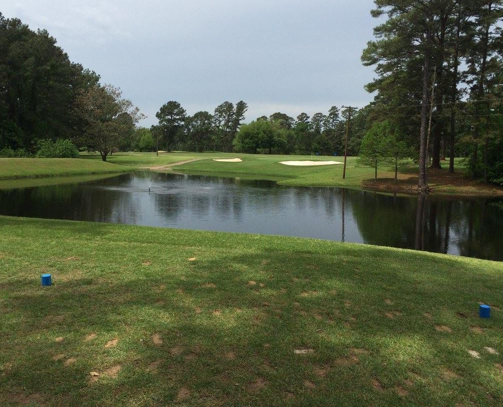 Golf Course Photo, Spring Creek Country Club, Crockett, Texas, 75835
