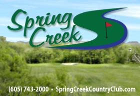 Golf Course Photo, Spring Creek Country Club, Harrisburg, 57032