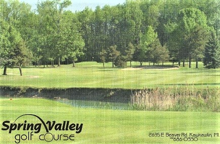Spring Valley Golf Course, Kawkawlin, Michigan,  - Golf Course Photo
