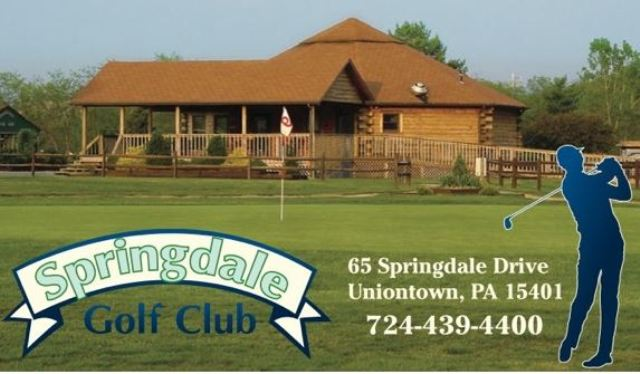 Golf Course Photo, Springdale Golf Club, Uniontown, Pennsylvania, 15401