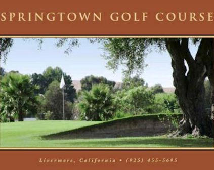 Springtown Golf Course, CLOSED 2015, Livermore, California, 94550 - Golf Course Photo