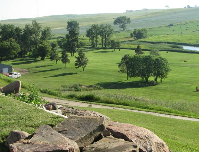 Square Butte Creek Golf Course, Center, North Dakota,  - Golf Course Photo