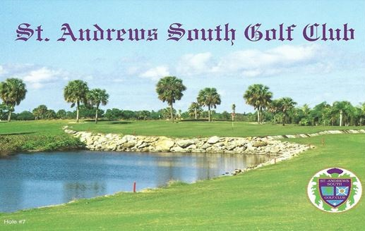St. Andrews South Golf Club, Punta Gorda, Florida,  - Golf Course Photo